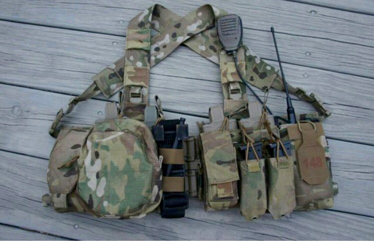 First Spear Multicam Split Front Chest Rig! - Gear Classifieds