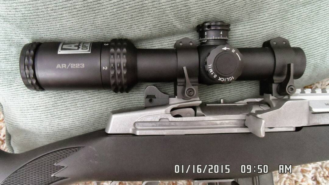 30 mm scope extension/offset Ruger rings low - Mini-14 Forum