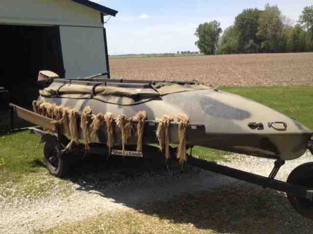 Duck Boats For Sale >> 14 Tdb Duck Boat For Sale Indiana Sportsman Your Indiana