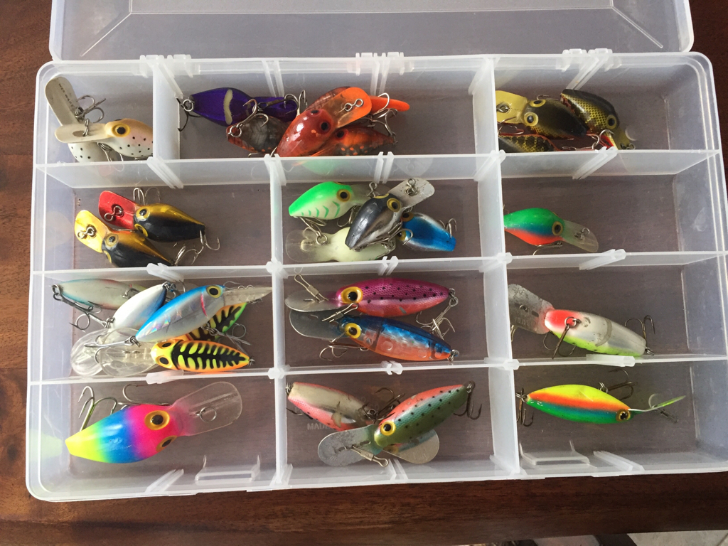 95 Storm Lures Mainly Pre Rapala Hot N Tots Michigan Sportsman