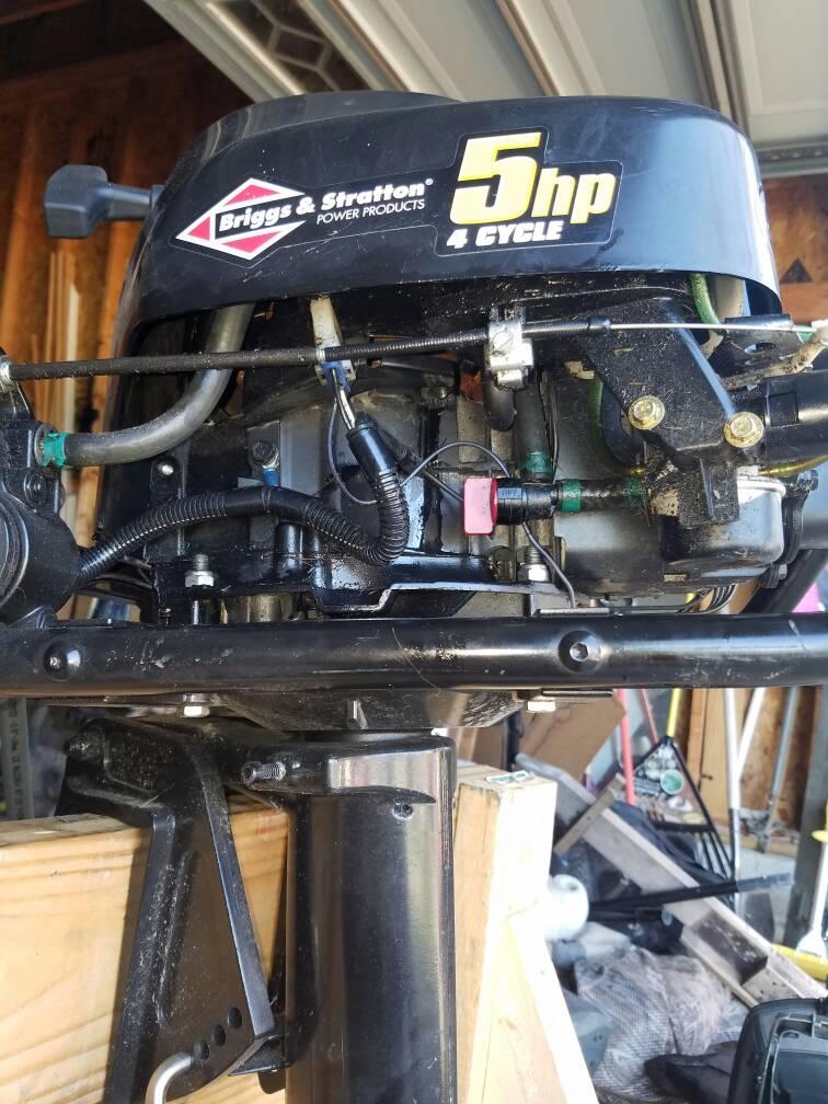 Briggs And Stratton Outboard Help Michigan Sportsman