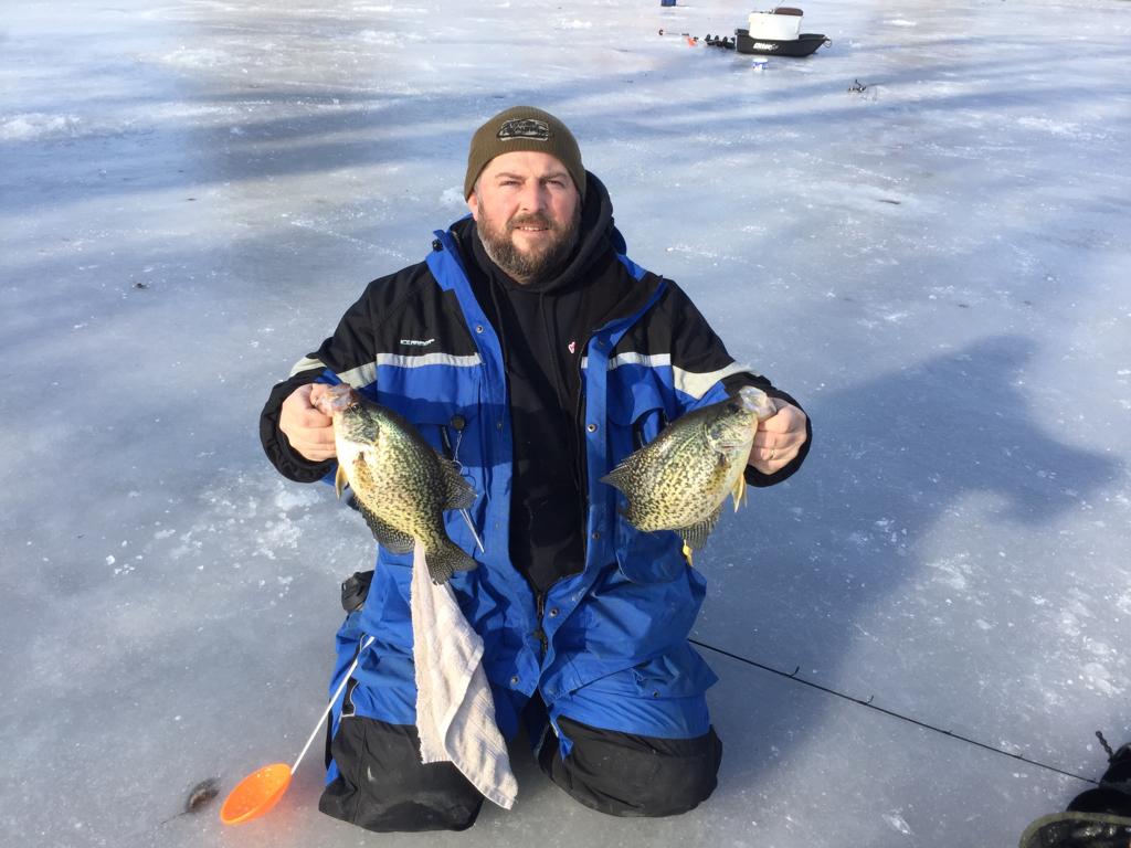Ice conditions sw michigan michigan sportsman online for Southwest michigan fishing report
