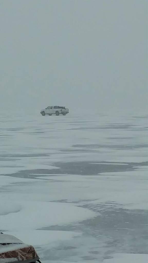 hubbard lake mi ice fishing
