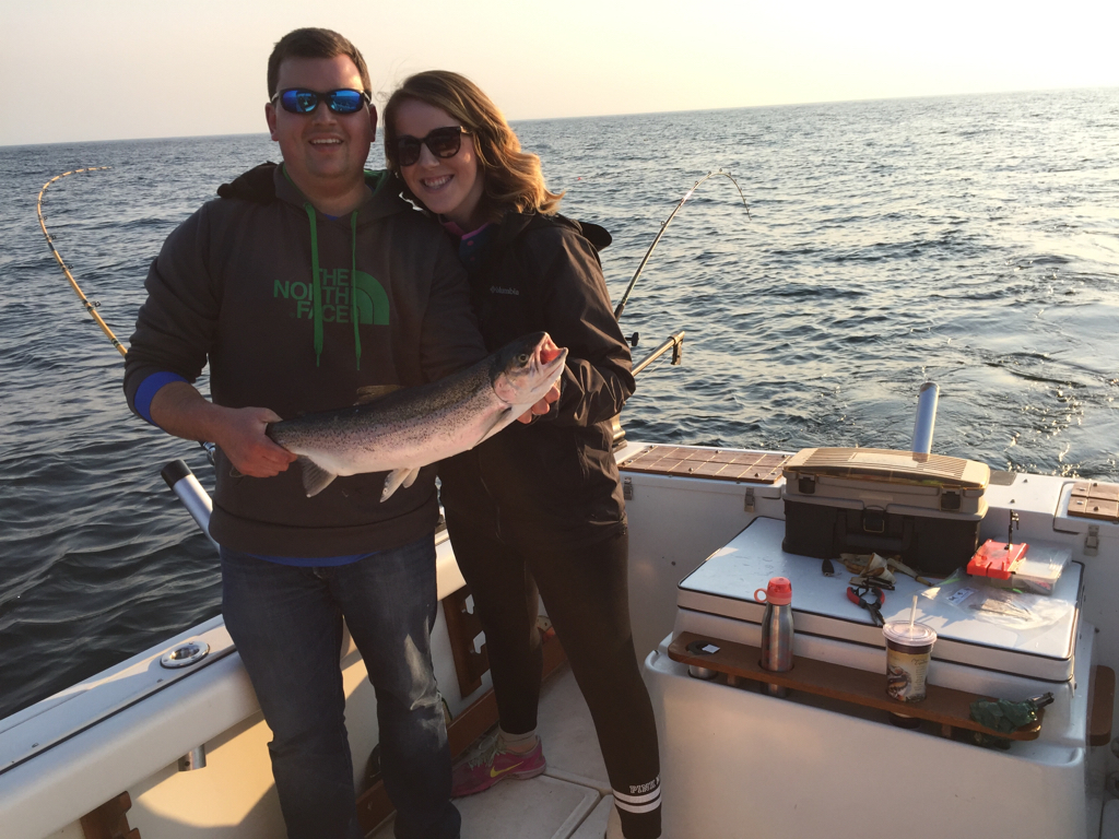 Grand haven 5 8 michigan sportsman online michigan for Grand haven fishing report
