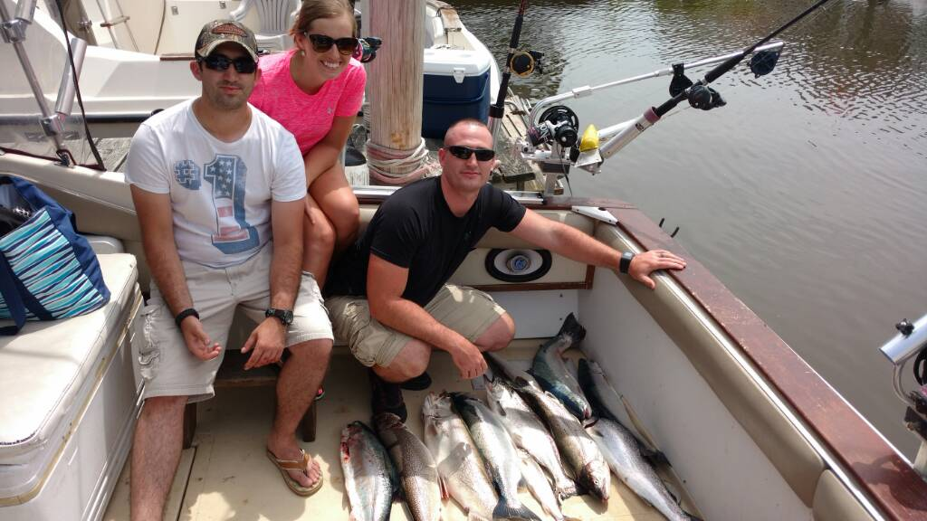 South haven july 10th michigan sportsman online for Southwest michigan fishing report