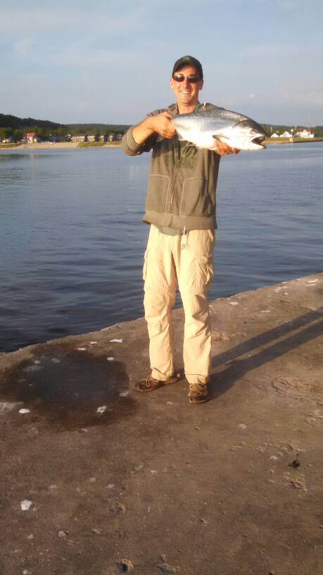 Nw pier report michigan sportsman online michigan for Michigan dnr fishing reports