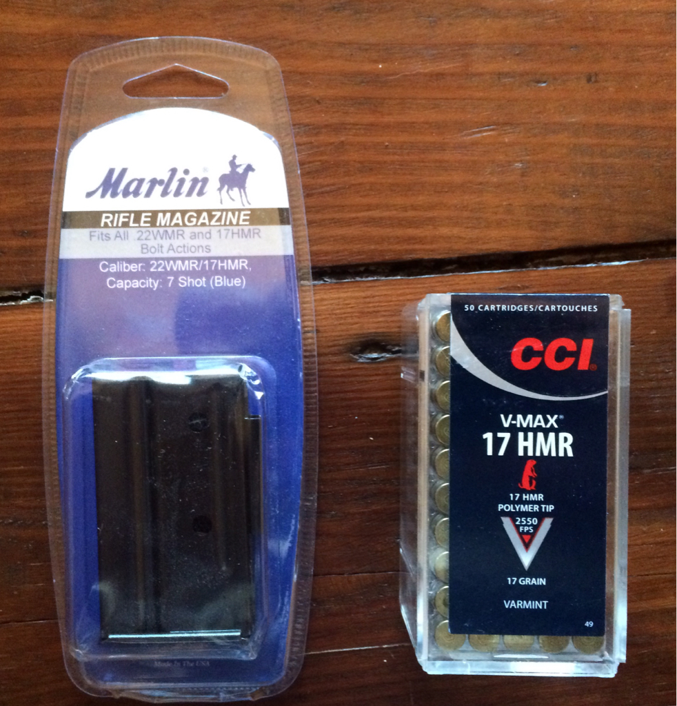 Marlin 917V .17 HMR - F/S Firearms & ammo