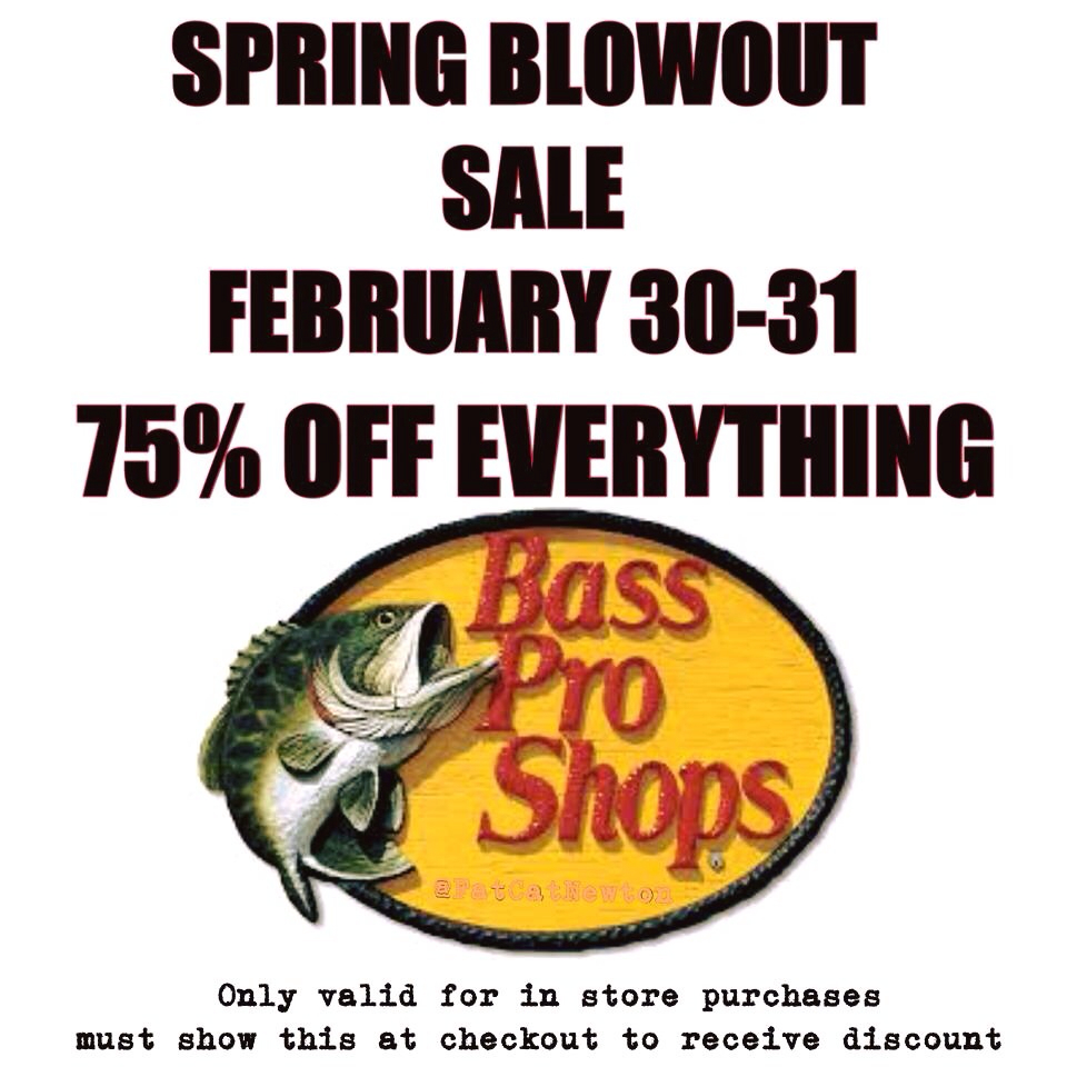 Bass pro sale ohio game fishing your ohio fishing resource for Bass pro fishing sale