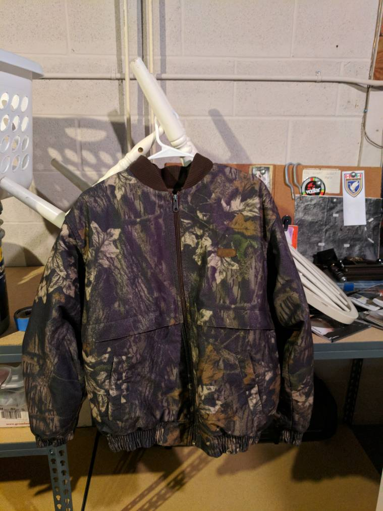 Cabela 39 s scent lok insulated jacket ohio game fishing for Cabelas fishing nets
