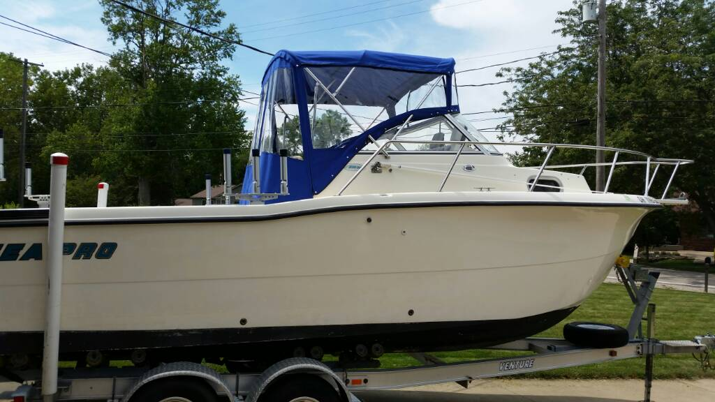 Aluminum Boat Enclosures : Aluminum boat bimini enclosures ohio game fishing your