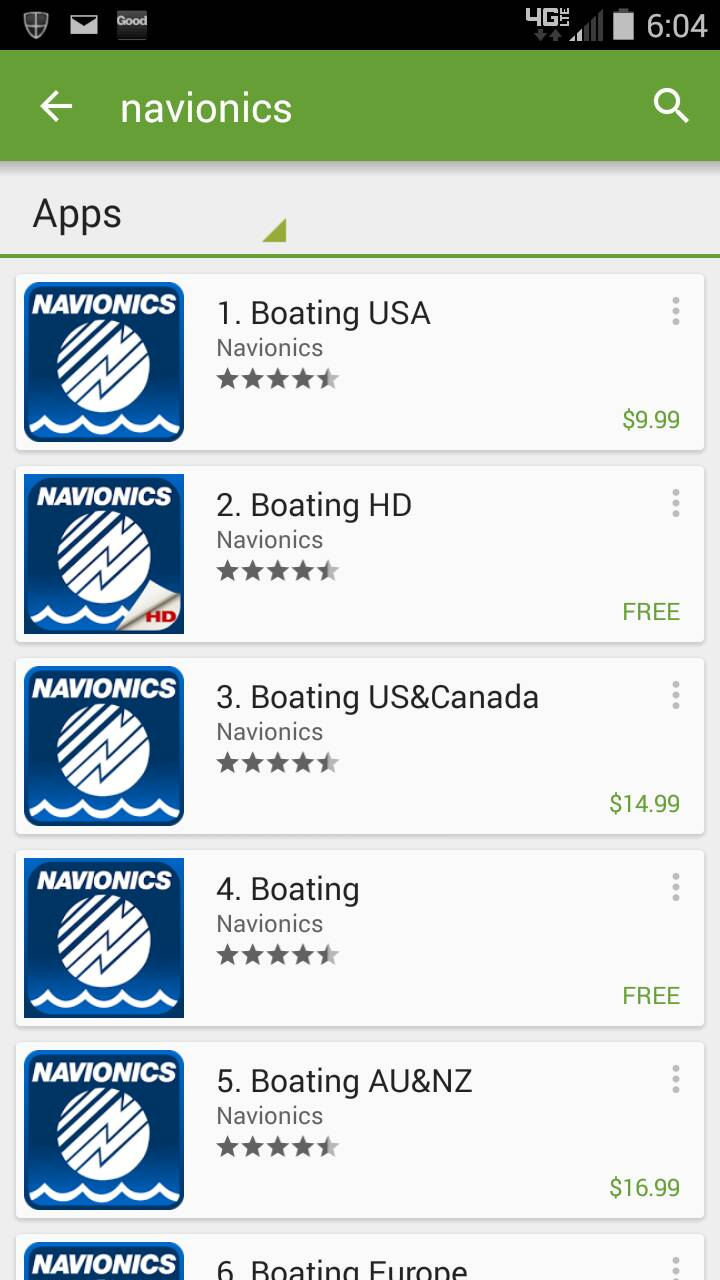Navionics app help please page 2 ohio game fishing for Navionics fishing app