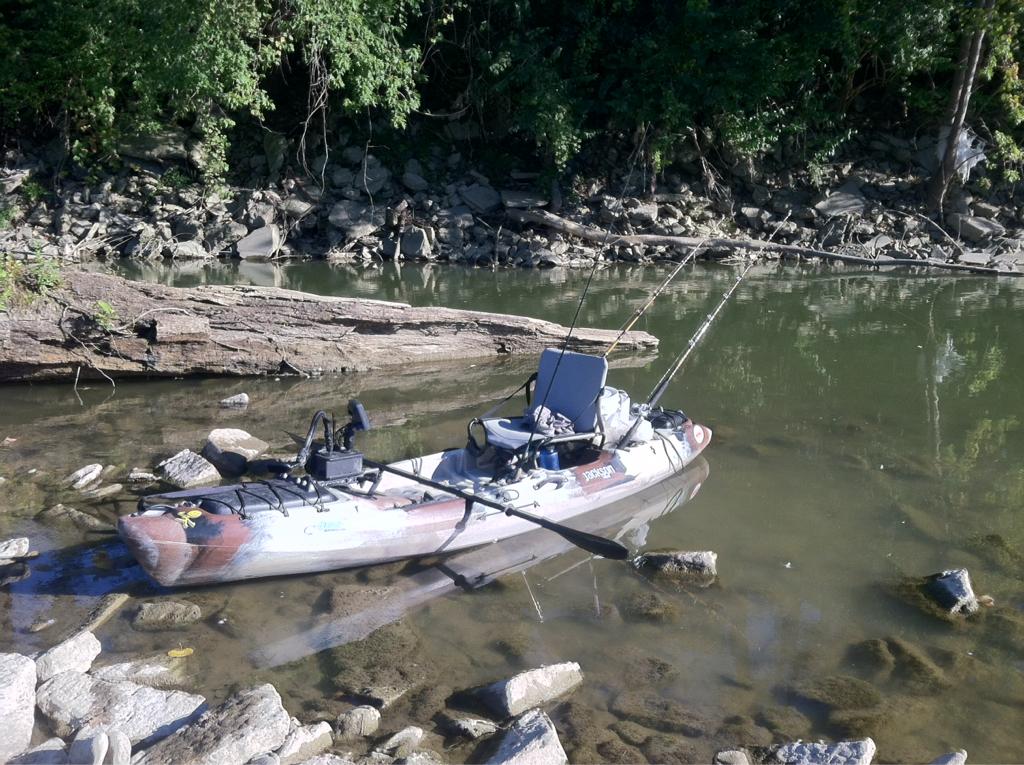 Jackson kayaks ohio game fishing your ohio fishing for Ohio game fishing