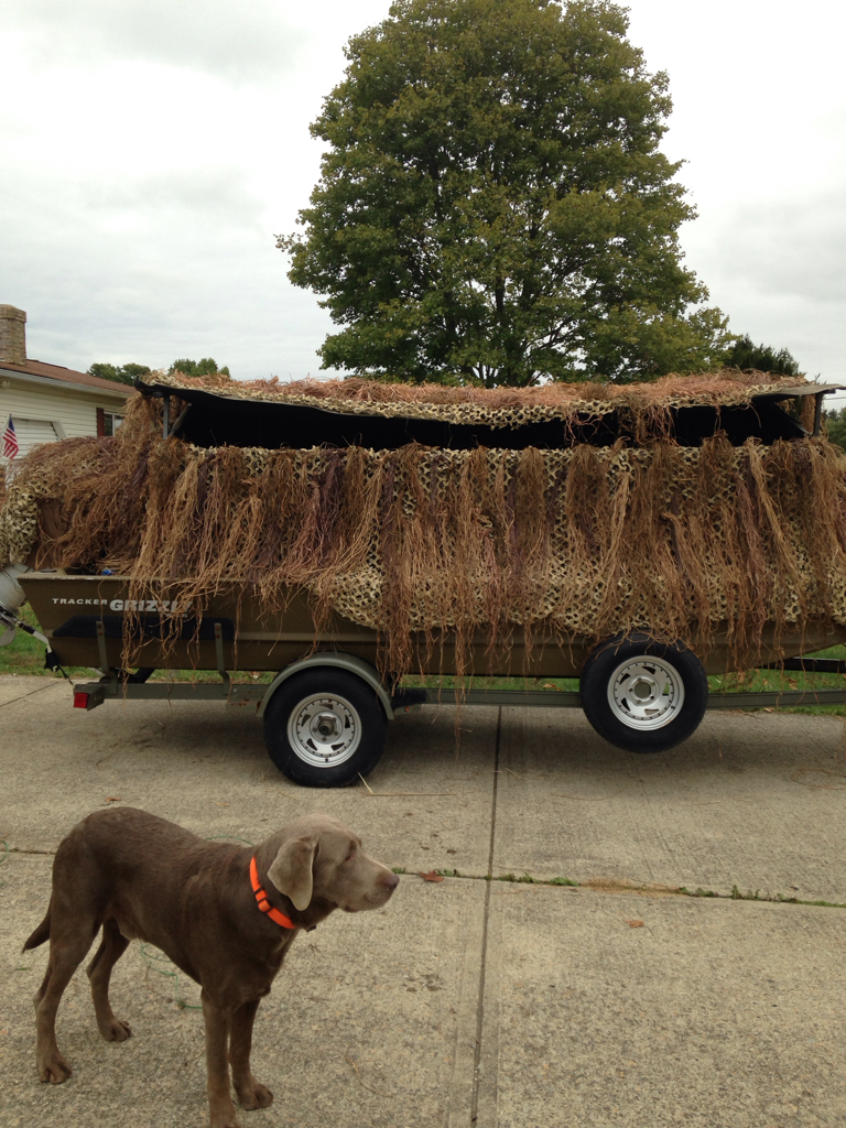 Banded Axe Boat Blind Advice Ohio Waterfowler Forum