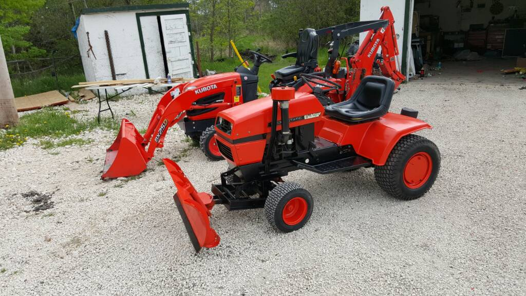 Ariens Lawn Tractor Attachments : New ariens s h garden tractor with ags youtube
